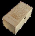 Box Diplomático 12 aňos - naturál gravír