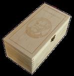 Box Diplomático - naturál gravír