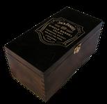 Box Jack Daniel's Single Barrel - lakovaná gravír