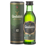 Mini Glenfiddich 12 YO 0.05L GB