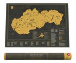 Slovensko - Stieracia vlastivedná mapa GB