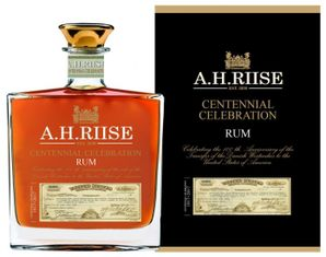 A.H. Riise Centenial Celebration Rum 0.70L
