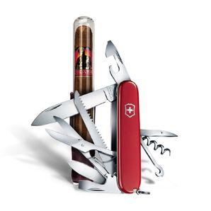 AKCIA Vreckový nôž Victorinox Cigar 79 + Gurkha Bourbon Col. Churchill Maduro 17g