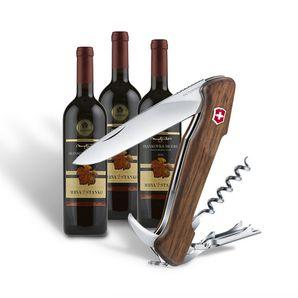 AKCIA Vreckový nôž Victorinox Wine Master + 3 druhy vína Mrva a Stanko