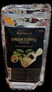 BioNature Zelená káva mletá 500g