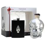 Crystal Head Vodka 0.70L GB + ploskačka