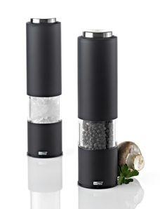 Elektrický mlynček na korenie alebo soľ TROPICA BLACK