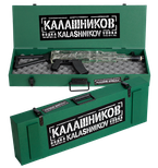 Kalashnikov Vodka Machine Gun AK Wooden Box 0.70L GB