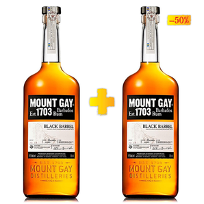 Mount Gay Black Barrell 2x 0.70L
