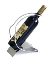 Stojan na víno nerez