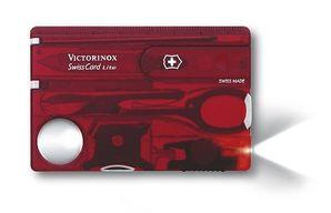 Vreckový nôž Victorinox SwissCard Lite Ruby