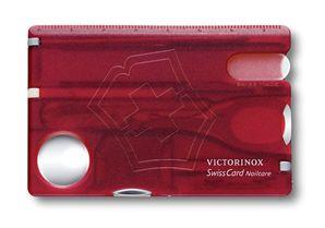 Vreckový nôž Victorinox SwissCard NailCare Ruby